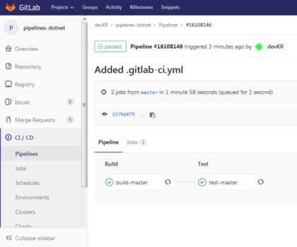 Continuous Integration z GitLab CI