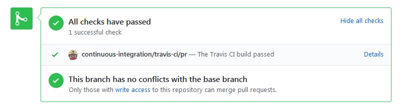 CI GitHub Pull Request